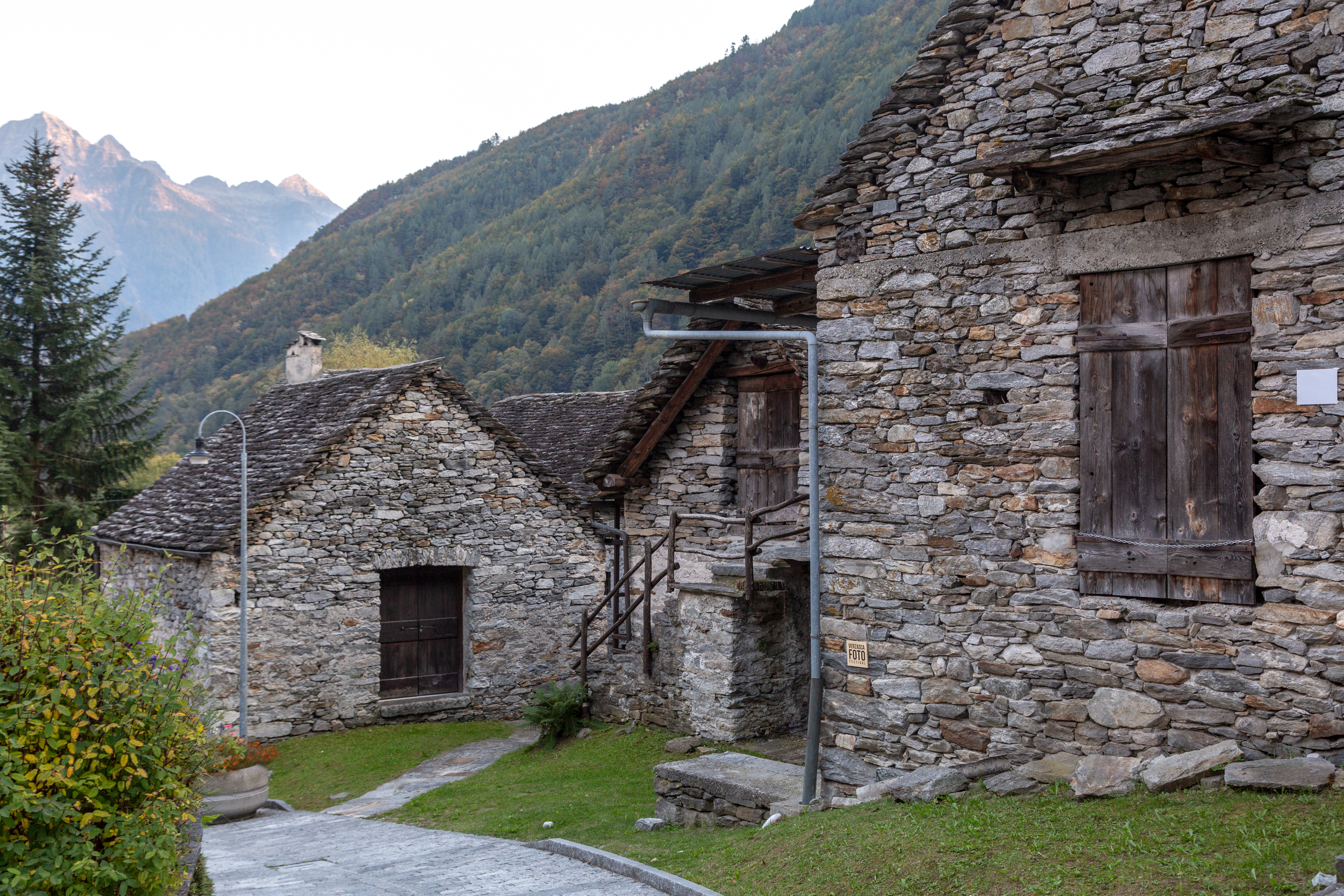 Valle Verzasca, Village of Sonogno